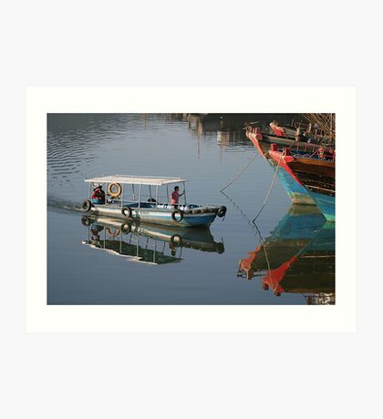 Boat in Sanya, China - Fine Art - Landscape Art Print