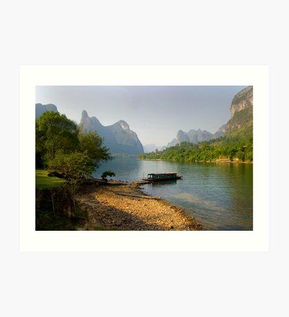 Li River, China - Fine Art Poster - Landscape Art Print