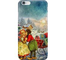 CHRISTMAS LOVE iPhone Case/Skin