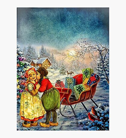 CHRISTMAS LOVE Photographic Print