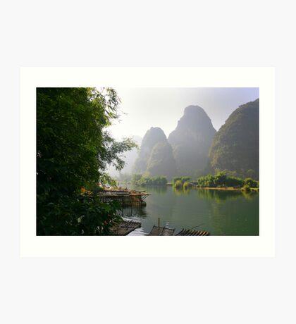 Li River, China  Subject: fine art, landscape Art Print