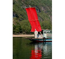 RED Sail Fine Art - Li River, China Photographic Print