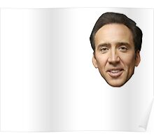 Beautiful Nicolas Cage Poster