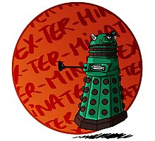 dalek are cute Photographic Print