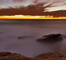 Glowing Rock by Mark  Lucey