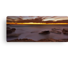 Glowing Rock Canvas Print