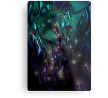 Nocturne (with Fireflies) Metal Print