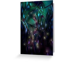 Nocturne (with Fireflies) Greeting Card