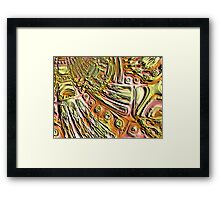 El Dorado - Generated Terrain Framed Print