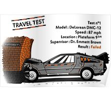 Travel Test Poster