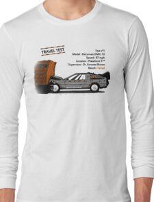 Travel Test Long Sleeve T-Shirt