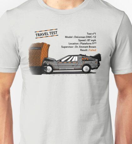 Travel Test Unisex T-Shirt
