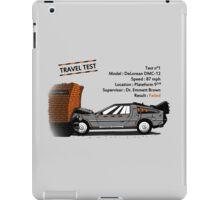 Travel Test iPad Case/Skin