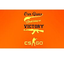 CS:GO Victory Logo HQ Photographic Print