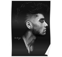 Profile of Zayn Malik Poster