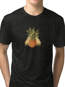Three Points, Where Pineapples Meet. Tri-blend T-Shirt