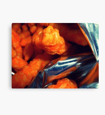 04-17-11: Cheeto Fiend Canvas Print