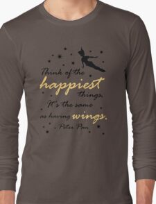 Think Of The Happiest Things Long Sleeve T-Shirt