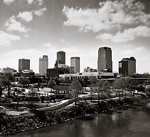 Skyline, Little Rock, Arkansas by Stephen Graham