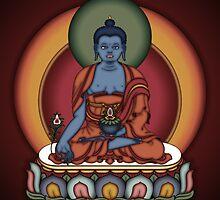 Medicine Buddha by Deanna Gardam