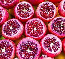 Pomegranate fruit by Atanas Bozhikov NASKO