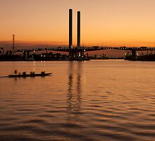 Bolte Bridge - Melbourne by Timo Balk