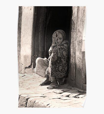 Bhaktapur Woman Poster