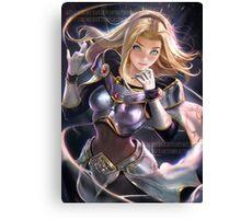 League of Legends Lux HQ Canvas Print