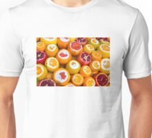 Oranges and pomegranates in Grand Bazaar Istanbul, TURKEY Unisex T-Shirt