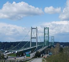 Tacoma Narrows Bridges by Marjorie Wallace
