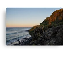 Ocean and Earth Canvas Print