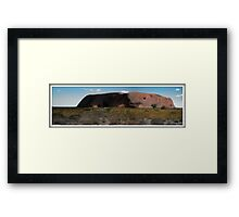 Ayres Rock Framed Print