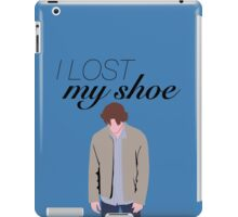 I Lost My Shoe  iPad Case/Skin