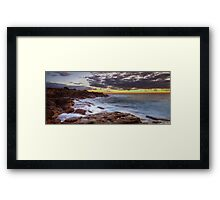 Looking North Framed Print
