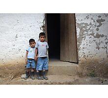School Boys Photographic Print