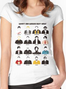 TV series Women's Fitted Scoop T-Shirt
