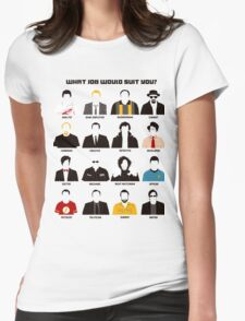 TV series Womens Fitted T-Shirt