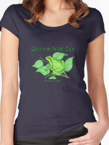 Save the Frogs Women's Fitted Scoop T-Shirt