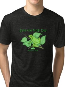 Save the Frogs Tri-blend T-Shirt