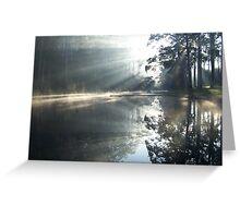 Morning Rays, Pemberton Greeting Card