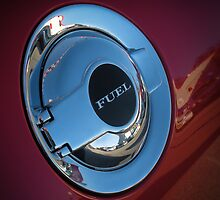 Chrome Fuel cap Dodge Challenger by Zunazet