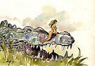 Croc Rider by casa