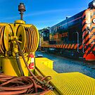The Niles Canyon Train Yard  by MattGranz