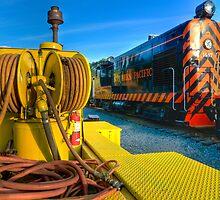 The Niles Canyon Train Yard  by MattGranz