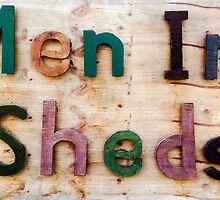Men in Sheds by John Gaffen