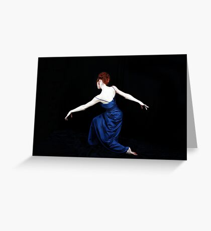 And She Danced Greeting Card