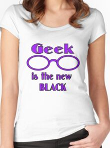 Geek is the New Black Women's Fitted Scoop T-Shirt
