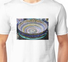 Turkish ceramics in the Grand Bazaar, Istanbul Unisex T-Shirt