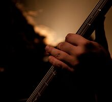 4 strings of steel by Daniel  Låstad