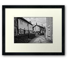 Village Cottages, Castleton Framed Print